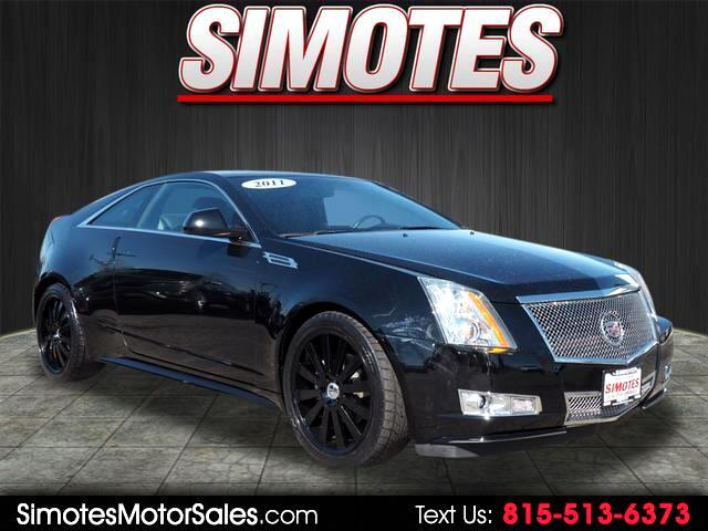 Cadillac CTS Performance Coupe 2011