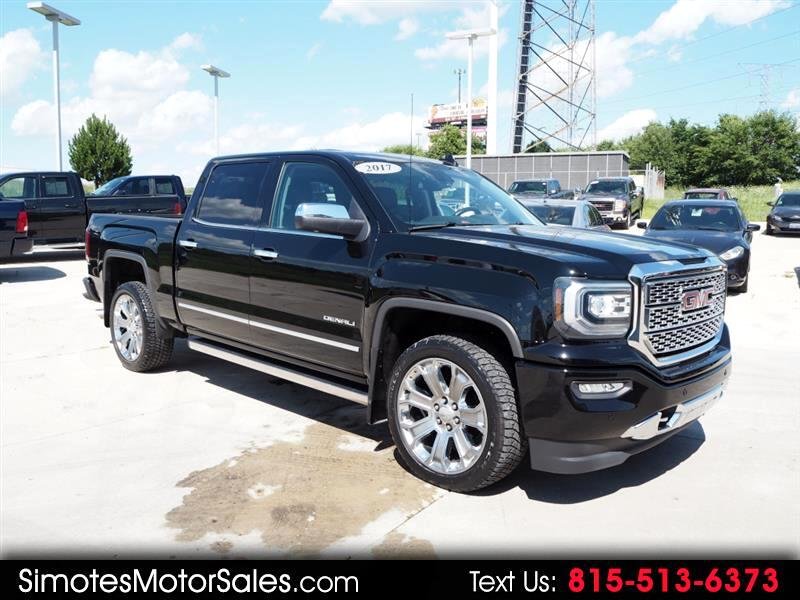 GMC Sierra 1500 Denali Crew Cab Long Box 4WD 2017