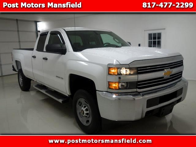 2015 Chevrolet Silverado 2500HD Work Truck Double Cab Long Box 2WD