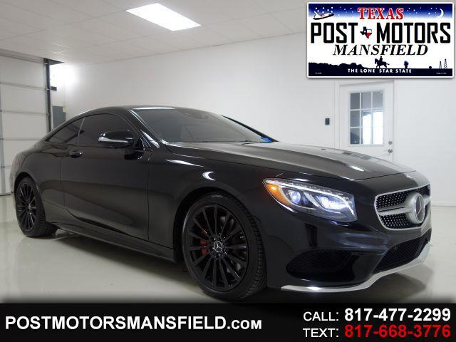 2015 Mercedes-Benz S-Class S550 4MATIC Coupe