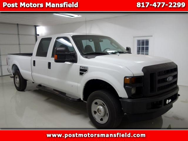 2009 Ford F-250 SD XL Crew Cab Long Bed 4WD