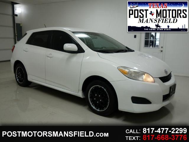 2011 Toyota Matrix Base 4-Speed AT