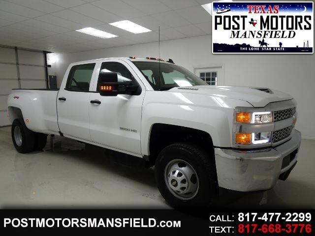 2019 Chevrolet Silverado 3500HD Work Truck Crew Cab Long Box 4WD