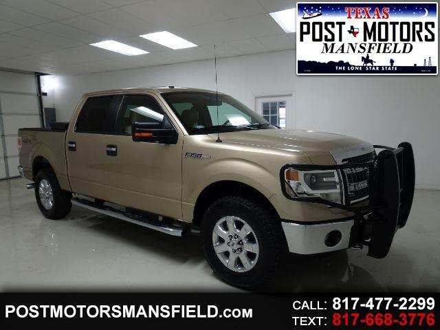 Ford F-150 XLT SuperCrew 5.5-ft. Bed 4WD 2014