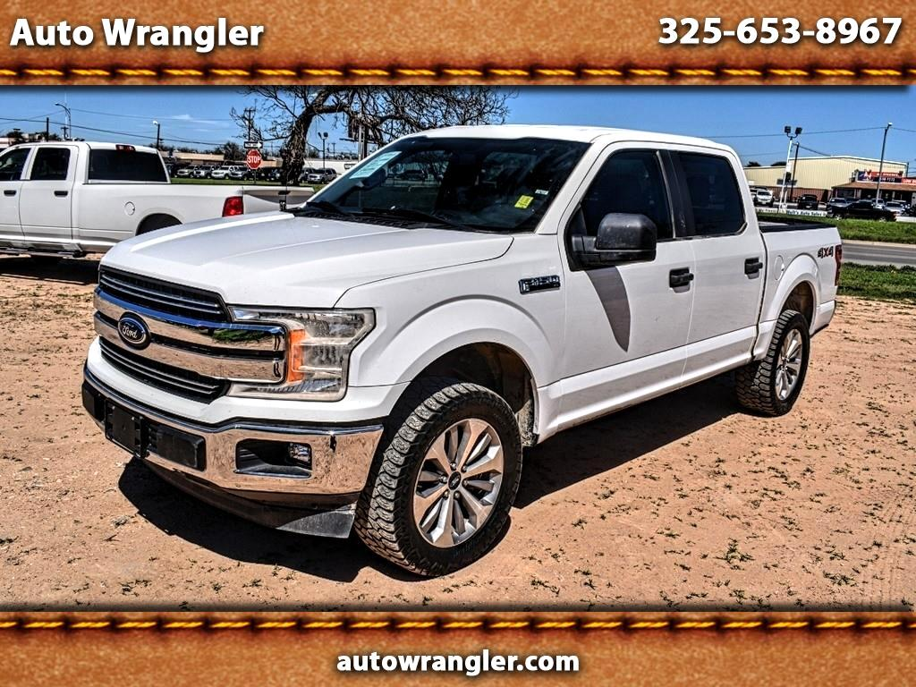 Ford F-150 XL SuperCrew 5.5-ft. Bed 4WD 2018