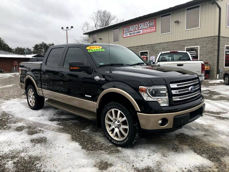"2014 Ford F-150 SuperCrew 139"" King Ranch 4WD"