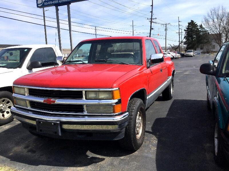1992 Chevrolet C/K 1500 Ext. Cab 6.5-ft. Bed 4WD