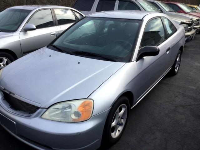 buy here pay here 2001 honda civic lx coupe for sale in fairfield oh 45014 symmes auto sales. Black Bedroom Furniture Sets. Home Design Ideas
