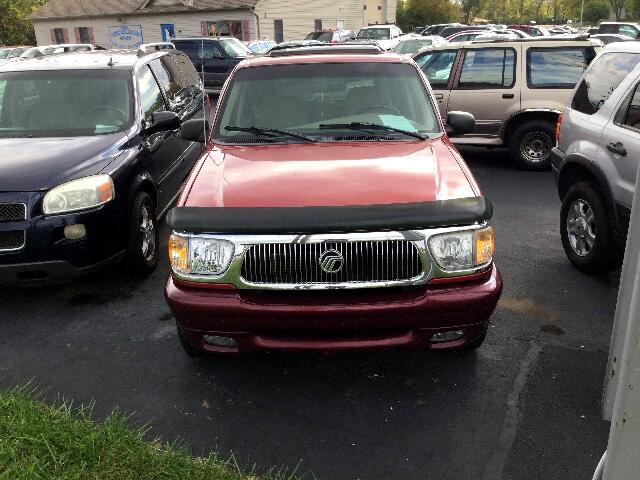Mercury Mountaineer AWD 1998