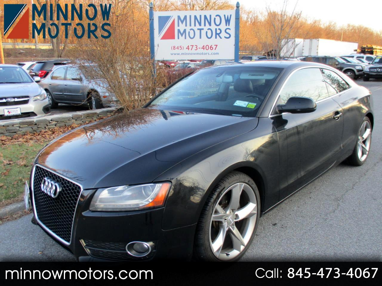 2010 Audi A5 Coupe 2.0T quattro Manual