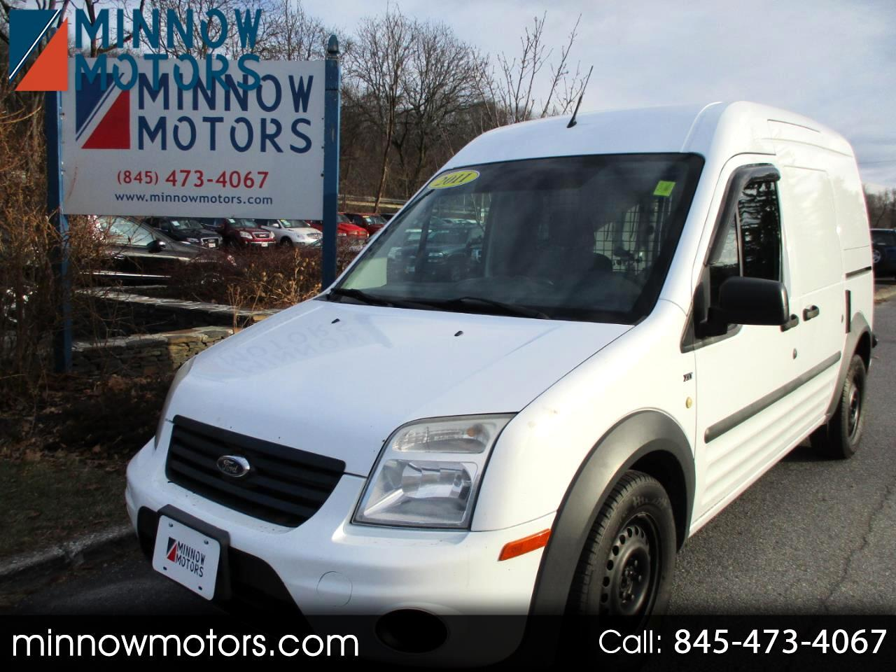 2011 Ford Transit Connect XLT with Rear Door Glass