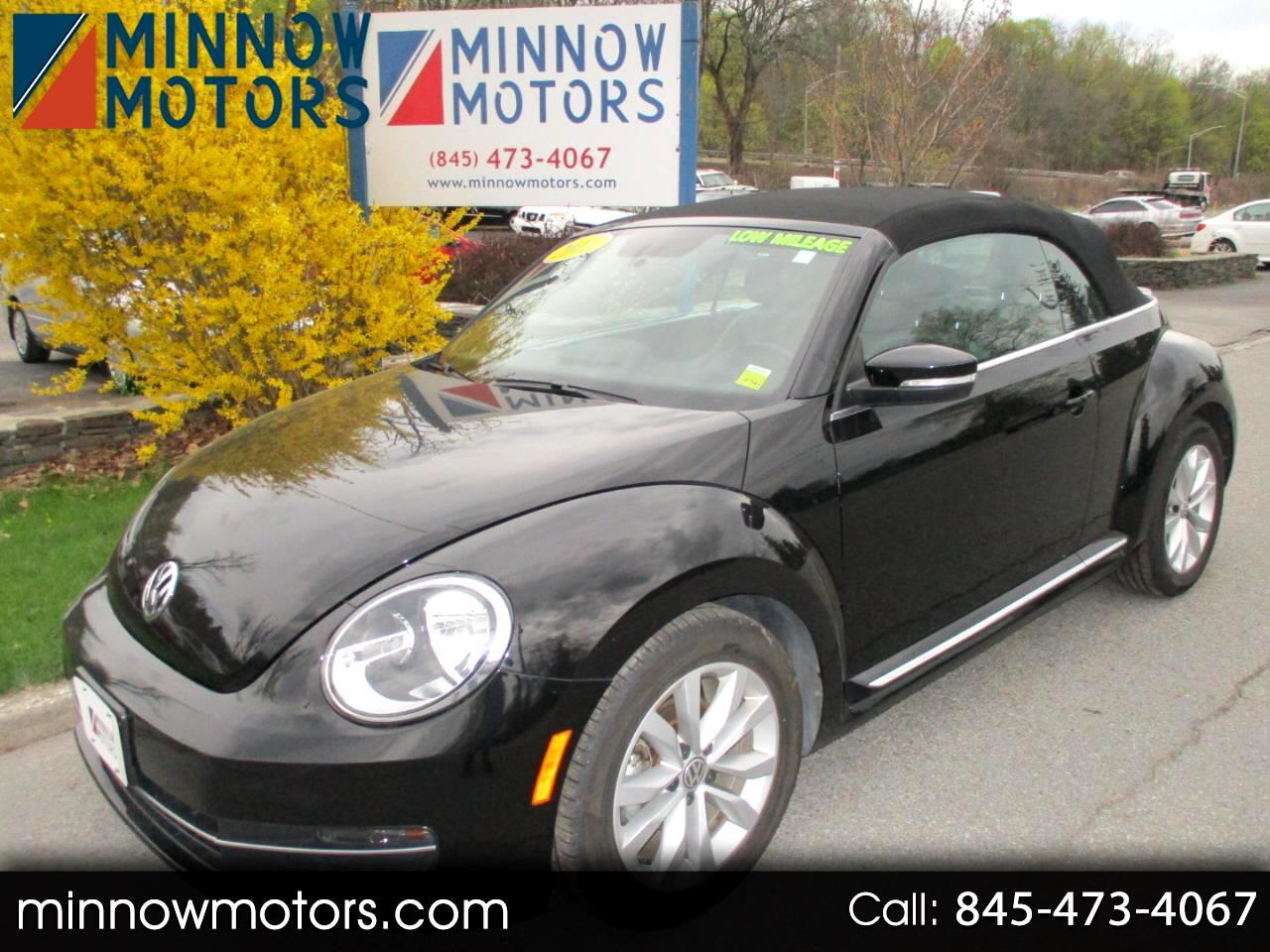 2013 Volkswagen Beetle TDI Convertible 6M