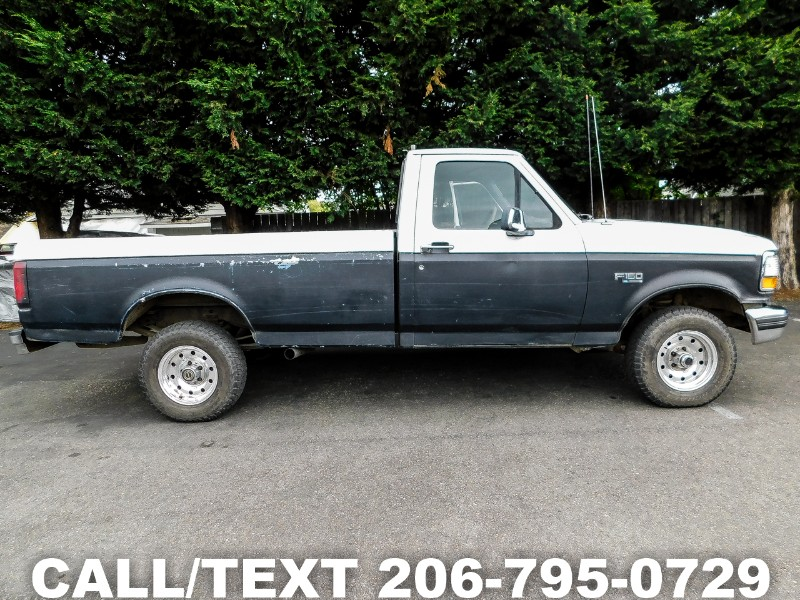 Ford F-150 S Reg. Cab Short Bed 4WD 1992