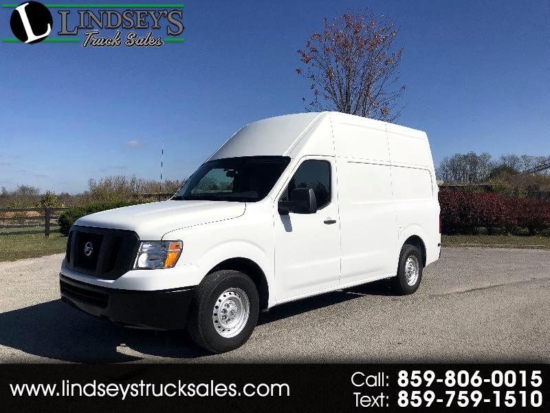 Nissan NV Cargo 2500 HD SV V6 High Roof 2017