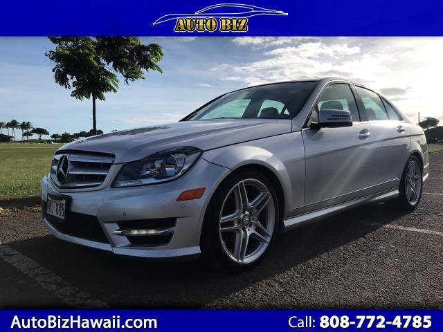 2013 Mercedes-Benz C-Class 4dr Sdn C 250 Luxury RWD