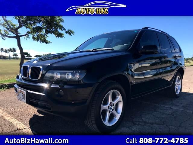 2002 BMW X5 3.0i