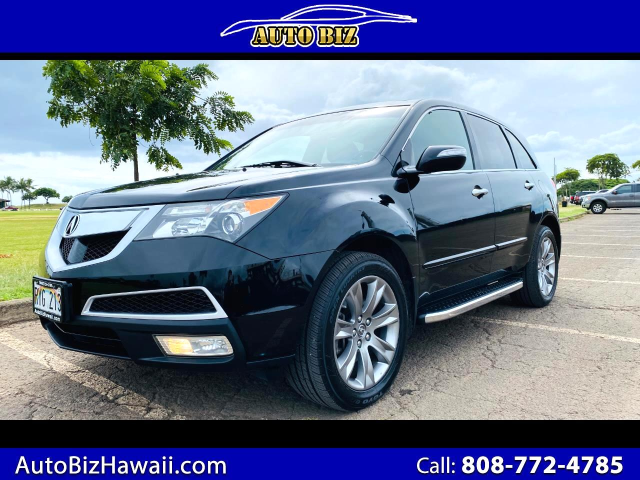 Acura MDX 6-Spd AT w/Advance Package 2013