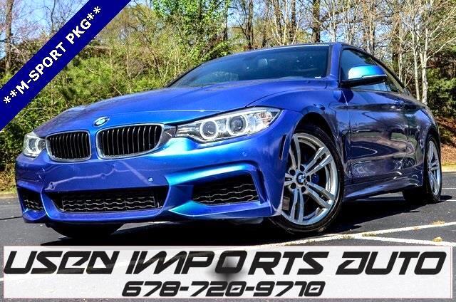 2014 BMW 4-Series 428i w/M-Sport Package