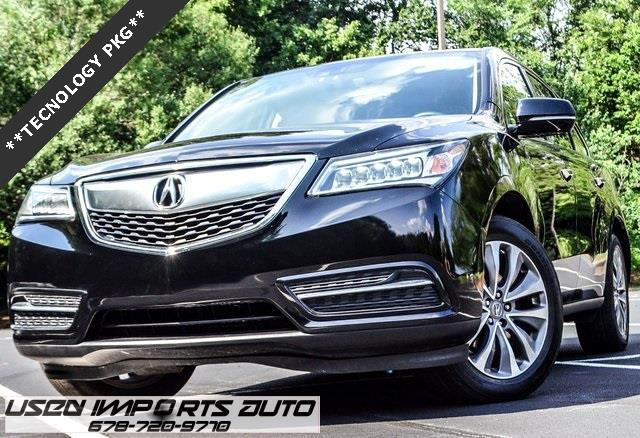 2015 Acura MDX 6-Spd AT w/Tech Package