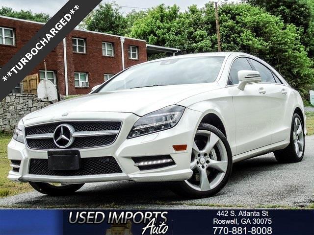 2014 Mercedes-Benz CLS-Class CLS550