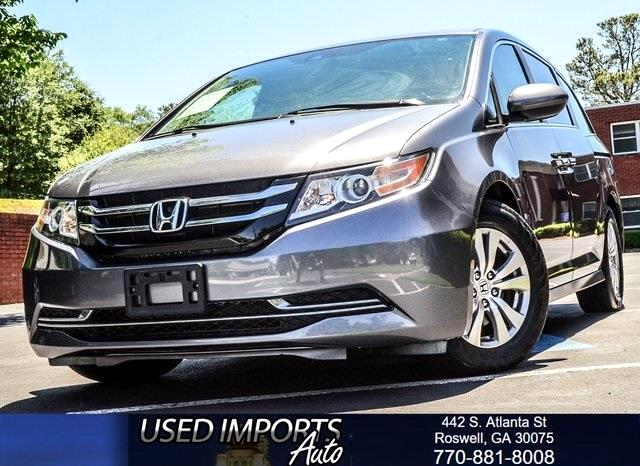 2015 Honda Odyssey EX-L EDITION
