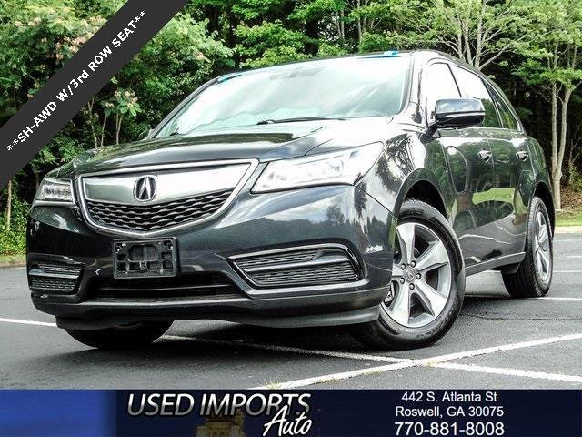 2016 Acura MDX SH-AWD 9-Spd AT w/ AcuraWatch Plus