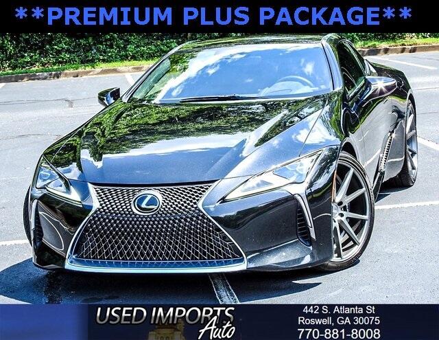 2018 Lexus LC 500 Premium Plus Package