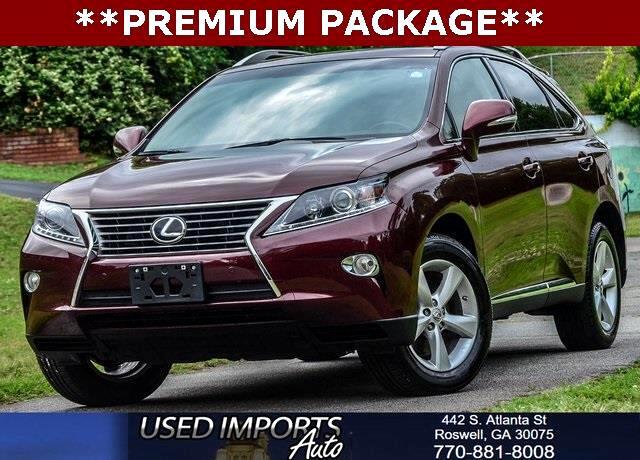 2015 Lexus RX 350 Premium Package