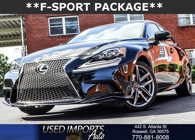 2015 Lexus IS 250 F-Sport Package