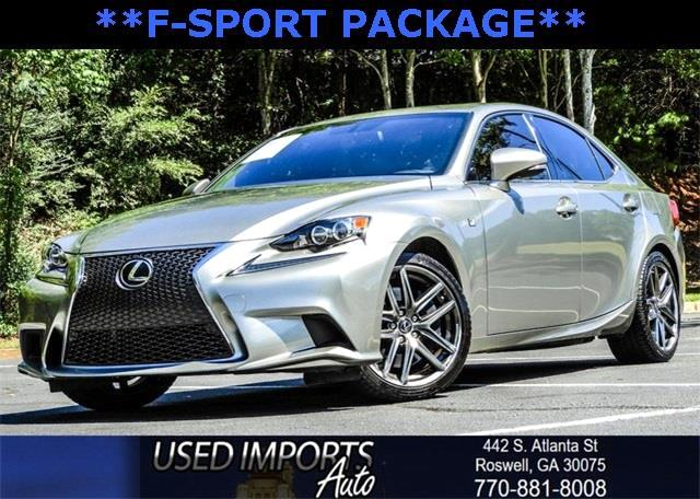 2015 Lexus IS 350 F-Sport Package