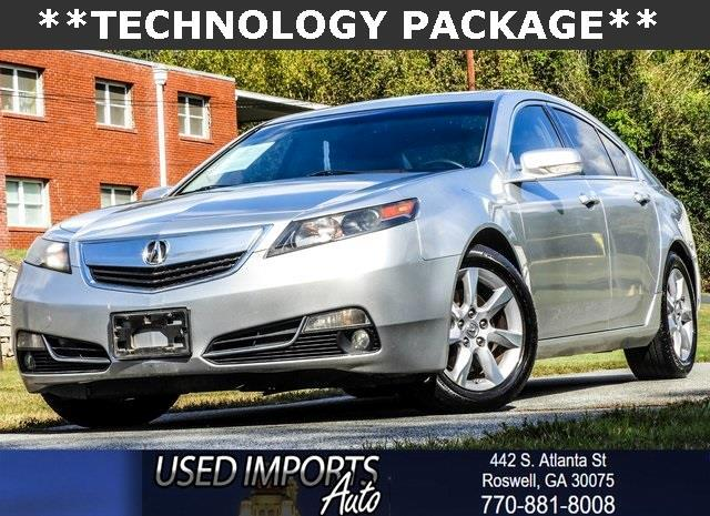 2012 Acura TL 6-Speed AT with Tech Package and 18-In. WP