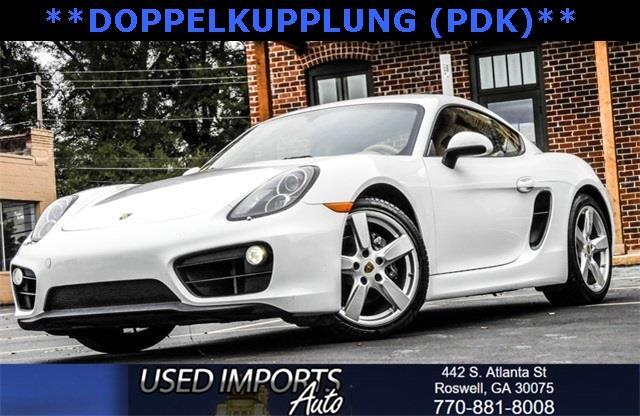 2015 Porsche Cayman Sports Package