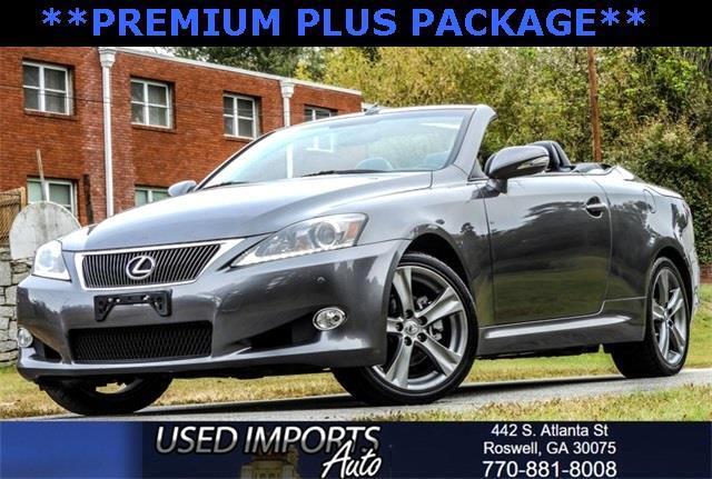 2012 Lexus IS 250C Premium Plus Package