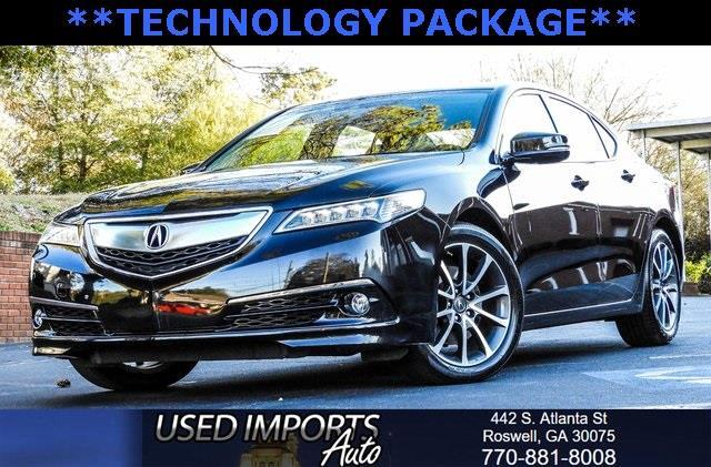 2015 Acura TLX 9-Spd AT SH-AWD w/Advance Package