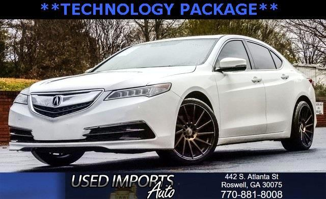 2015 Acura TLX w/Technology Package