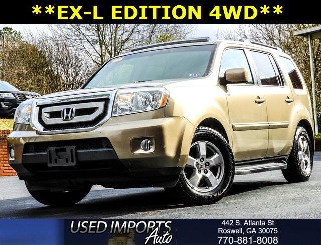 2009 Honda Pilot 4WD 4dr EX-L w/RES