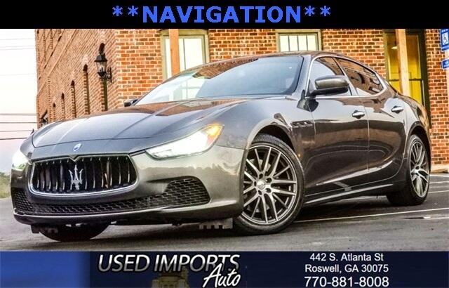2015 Maserati Ghibli Luxury