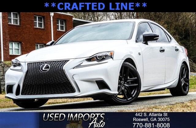 2015 Lexus IS 250 Sport Sdn Crafted Line