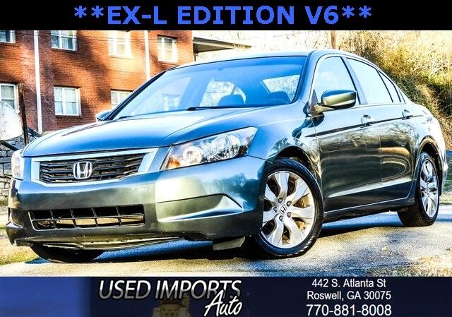 2008 Honda Accord Sdn 4dr V6 Auto EX-L