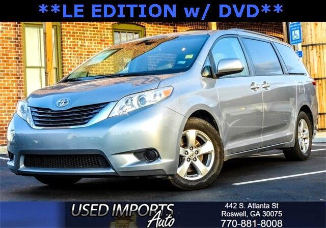 2013 Toyota Sienna 5dr 7-Pass Van V6 LE AAS FWD (Natl)