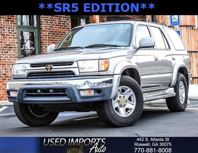 2002 Toyota 4Runner 4dr SR5 3.4L Auto (Natl)