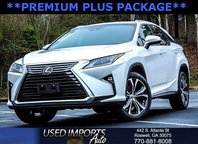 2016 Lexus RX 350 Premium Plus Package