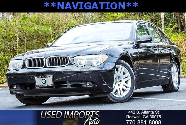 2002 BMW 7 Series 745i Sdn