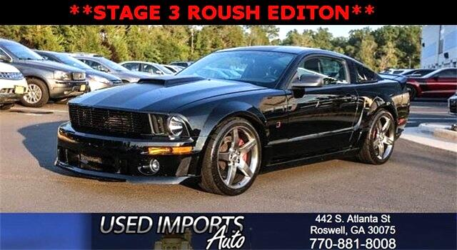 2009 Ford Mustang JACK ROUSH EDITION