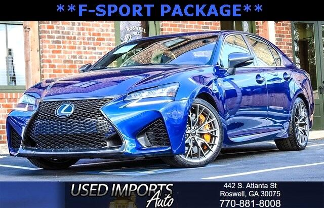 2016 Lexus GS F Super Sports Package