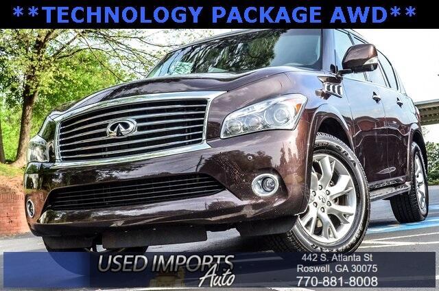 2013 Infiniti QX56 4WD w/Technology Package