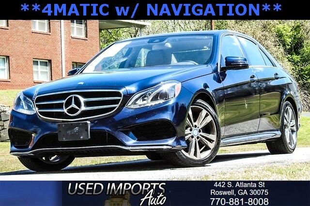 2016 Mercedes-Benz E-Class 4dr Sdn E 350 Luxury 4MATIC