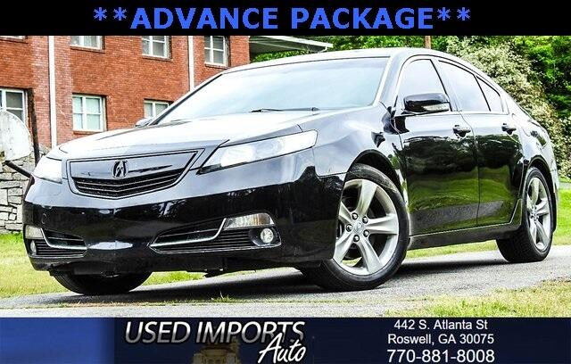 2012 Acura TL Advance Package