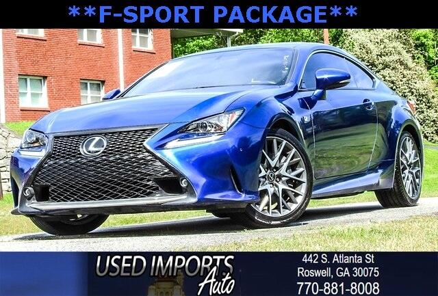 2015 Lexus RC 350 F-Sport Package