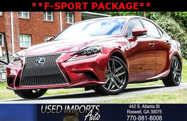 2015 Lexus IS 250 Crafted Line F-Sport Package